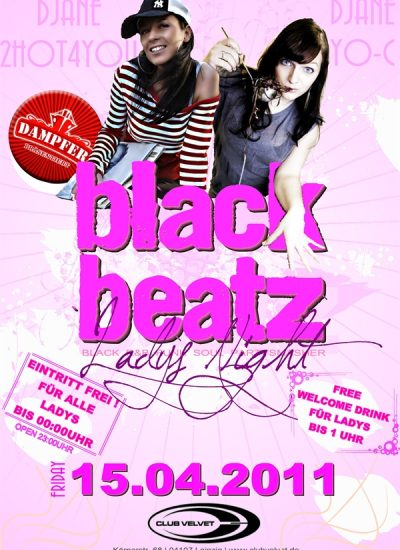 black beatz flyer 15.04.11
