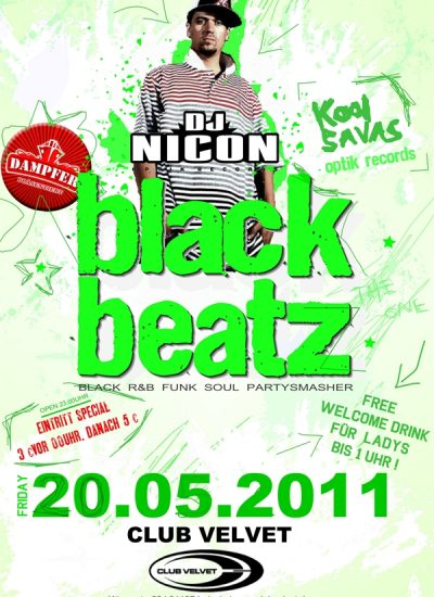 black beatz flyer 20.05.2011 - 2