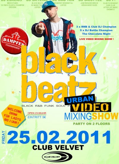 black beatz flyer 25.02.2011