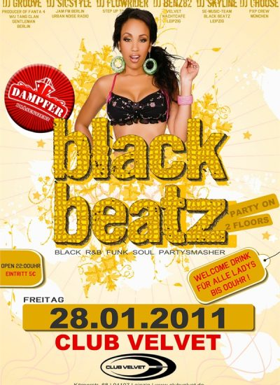 black beatz flyer 28.01.11