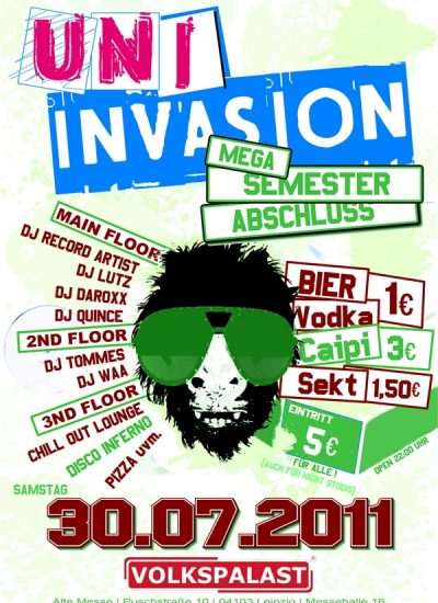 uni invasion flyer 30.07